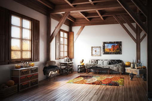Rustic「Cozy Home Interior」:スマホ壁紙(4)