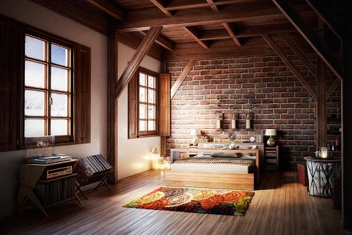 Desk Lamp「Cozy Home Interior」:スマホ壁紙(0)