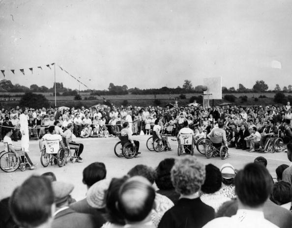 Paralympic Games「Basketball At The Stoke Mandeville Games」:写真・画像(6)[壁紙.com]