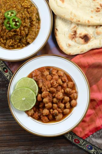 Vegetable Curry「Punjabi Chole and Baingan Bharta」:スマホ壁紙(10)