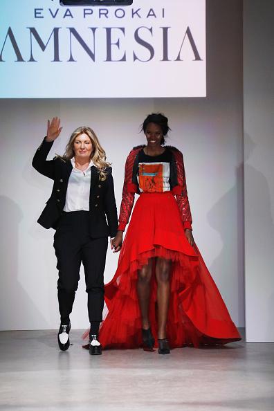 Brian Mint「Nolcha Shows New York Fashion Week Fall Winter 2019 Presented By InstaSleep Mint Melts  AMNESIA Runway Show」:写真・画像(9)[壁紙.com]