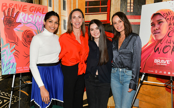 "Catt Sadler「Girl Rising And International Rescue Committee's Special Screening Of Documentary Film ""Brave Girl Rising"" For International Women's Day」:写真・画像(17)[壁紙.com]"