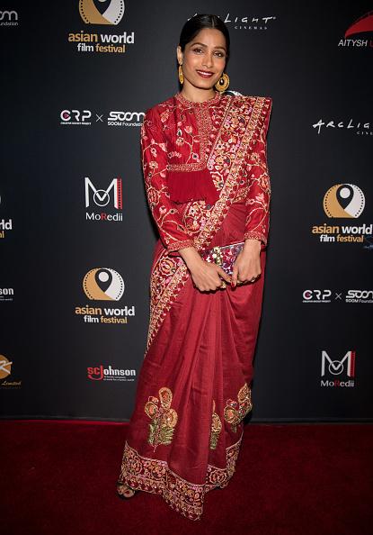 "Freida Pinto「4th Annual Asian World Film Festival - Opening Night Screening Of ""Love Sonia"" - Arrivals」:写真・画像(7)[壁紙.com]"
