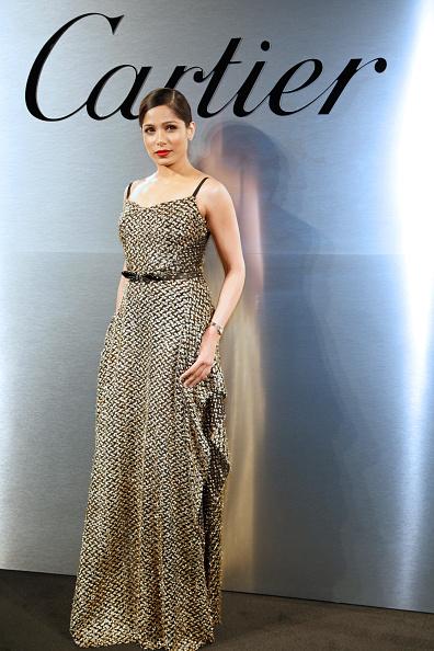 Freida Pinto「Cartier Celebrates The Launch Of Santos de Cartier Watch - Photocall」:写真・画像(17)[壁紙.com]