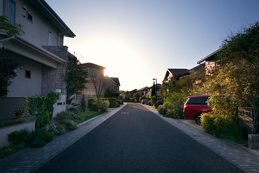 日本「Newly built neighbourhood in suburban Osaka, Japan」:スマホ壁紙(4)