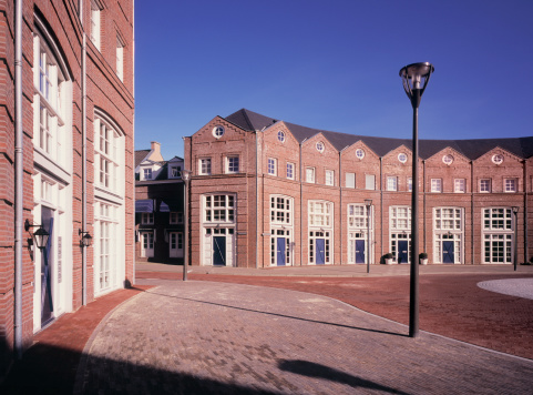 North Brabant「Newly built homes in traditional style.」:スマホ壁紙(5)