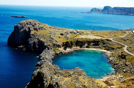 Aegean Sea「Cove below the Acropolis & Aegean Sea」:スマホ壁紙(4)