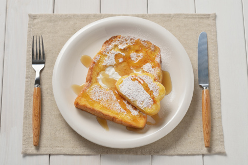 Sweet Food「French toast and clouds」:スマホ壁紙(6)