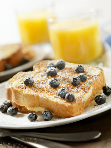 French Toast「French Toast with Powdered Sugar and Blueberries」:スマホ壁紙(18)