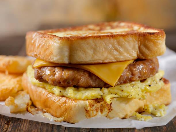 French Toast Breakfast Sandwich:スマホ壁紙(壁紙.com)