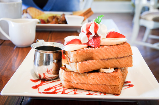French Toast「French toast at a fancy restaurant」:スマホ壁紙(19)