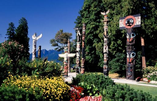 Vancouver - Canada「stanley park totem pole vancouver」:スマホ壁紙(10)