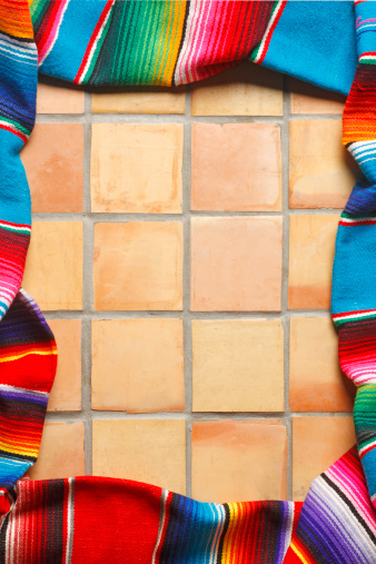 お祭り「メキシコのブランケット」:スマホ壁紙(14)