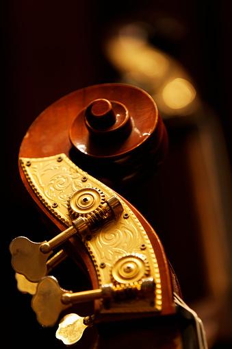 Bass Instrument「Double bass headstock」:スマホ壁紙(7)