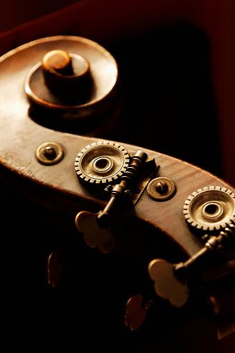 Bass Instrument「Double bass headstock」:スマホ壁紙(15)