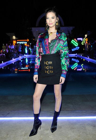 Skirt「Farfetch and William Vintage Celebrate Gianni Versace Archive hosted by Elizabeth Stewart and William Banks-Blaney」:写真・画像(16)[壁紙.com]