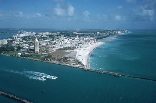 Miami Beach「Aerial/South Beach in Miami」:スマホ壁紙(1)