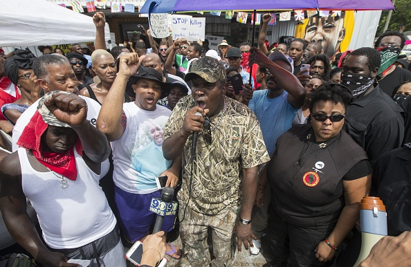 Mark Wallheiser「Protests Continue In Baton Rouge After Police Shooting Death Of Alton Sterling」:写真・画像(6)[壁紙.com]