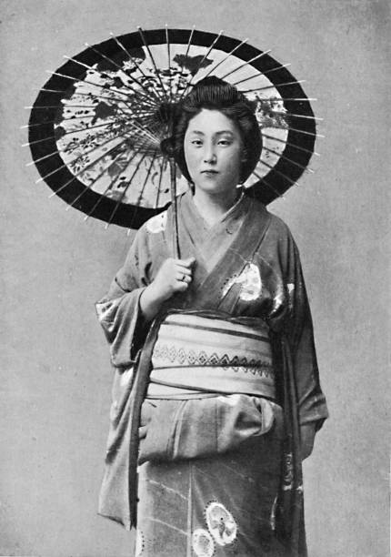 A Japanese Lady In Walking Costume:ニュース(壁紙.com)