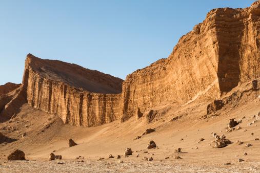 岩「South America, Chile, Atacama Desert, Valle de la Luna」:スマホ壁紙(1)