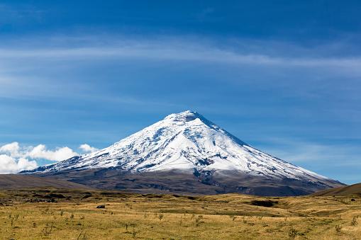 Volcanic Landscape「South America, Ecuador, Andes Volcano Cotopaxi, Cotopaxi National Park」:スマホ壁紙(7)