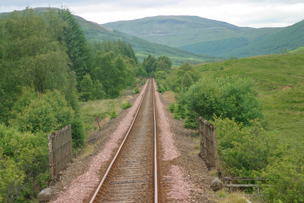 Finance and Economy「Drivers eye view of the beautiful Scottish scenery on the line between Crianlarich and Oban. July 2004.」:写真・画像(19)[壁紙.com]