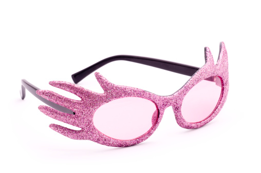 Funky「Pink party glasses」:スマホ壁紙(9)