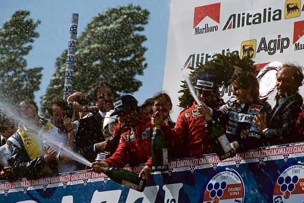 Grand Prix Motor Racing「Patrick Tambay, Rene Arnoux, Alain Prost, Grand Prix Of San Marino」:写真・画像(15)[壁紙.com]
