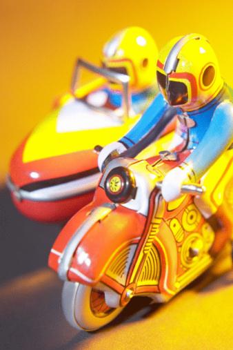Motorcycle「Vintage racing toys」:スマホ壁紙(6)