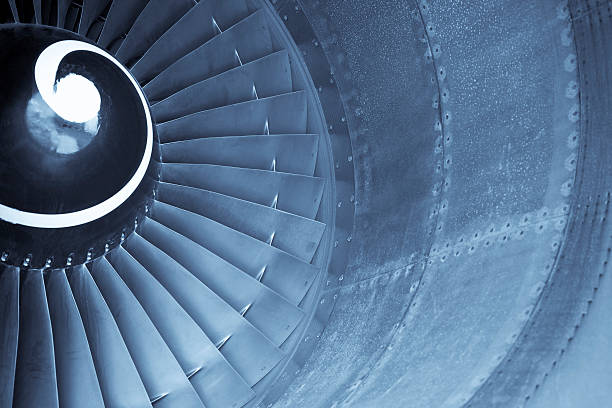 Aircraft jet engine turbine:スマホ壁紙(壁紙.com)