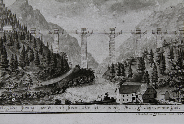 Salzkammergut「Brine Pipeline Bridge」:写真・画像(5)[壁紙.com]
