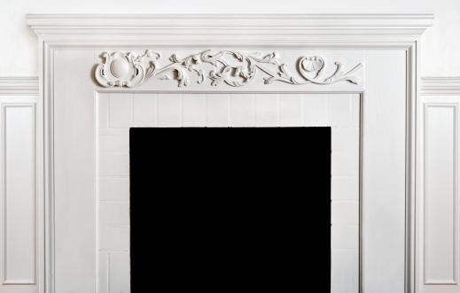 Brick Wall「Traditonal Fireplace  And Mantelpiece」:スマホ壁紙(7)