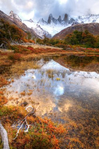 Andes「Fall at El Chalten」:スマホ壁紙(15)