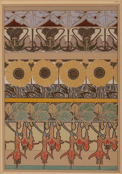 Art Nouveau「Textile Design」:写真・画像(12)[壁紙.com]