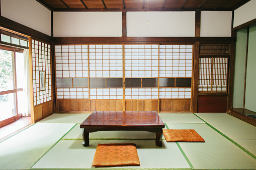 Indoors「Empty Ryokan room」:スマホ壁紙(1)