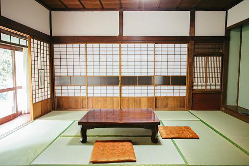 Japanese Culture「Empty Ryokan room」:スマホ壁紙(2)