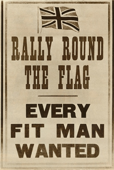 Patriotism「Rally Round The Flag: Every Fit Man Wanted」:写真・画像(9)[壁紙.com]