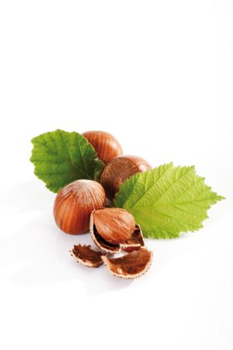 Hazelnut「Fresh Hazelnuts and leaves」:スマホ壁紙(11)