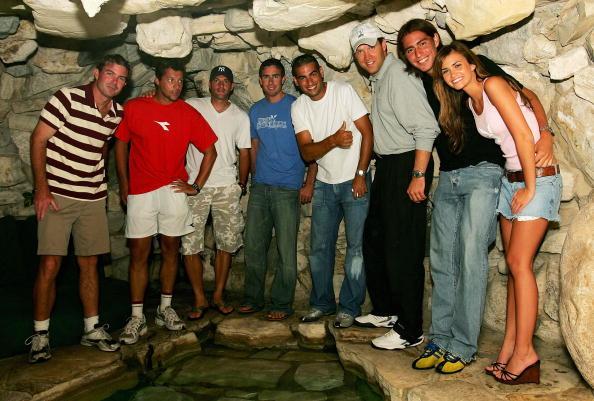 アンディ ラム「ATP Players Visit the Playboy Mansion」:写真・画像(9)[壁紙.com]