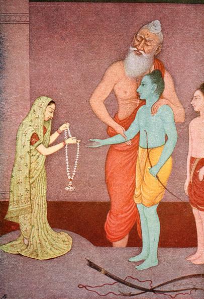 Hinduism「Rama's Marriage 1913」:写真・画像(11)[壁紙.com]