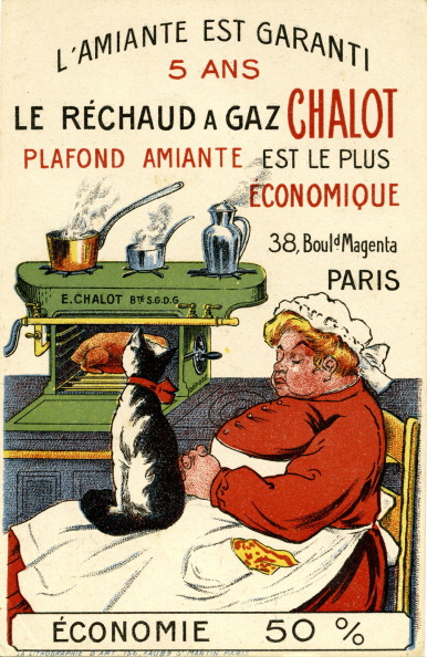 Oven「French advertisement for Chalot gas stoves」:写真・画像(19)[壁紙.com]