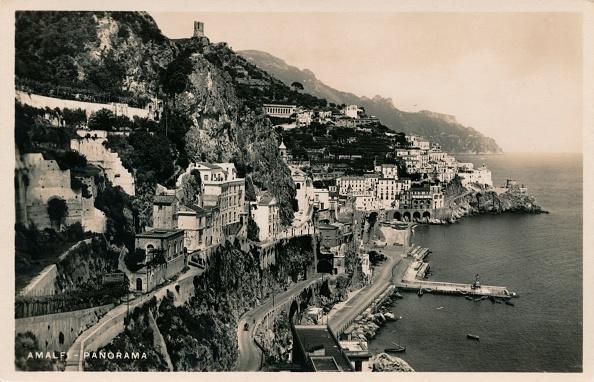 Physical Geography「'Amalfi - Panorama', c1910.  Artist」:写真・画像(2)[壁紙.com]
