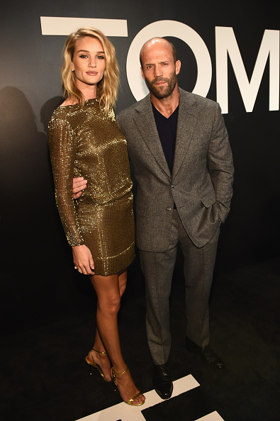 Rosie Huntington-Whiteley「Tom Ford Presents His Autumn/Winter 2015 Womenswear Collection At Milk Studios In Los Angeles - Red Carpet」:写真・画像(8)[壁紙.com]