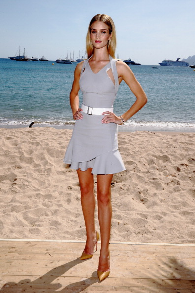 Mini Dress「Rosie Huntington Whiteley Photocall - The 67th Annual Cannes Film Festival」:写真・画像(8)[壁紙.com]
