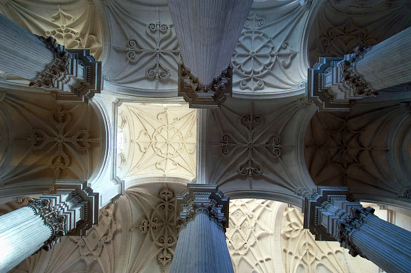 Ceiling「Ceiling of the Cathedral Granada Spain」:写真・画像(10)[壁紙.com]