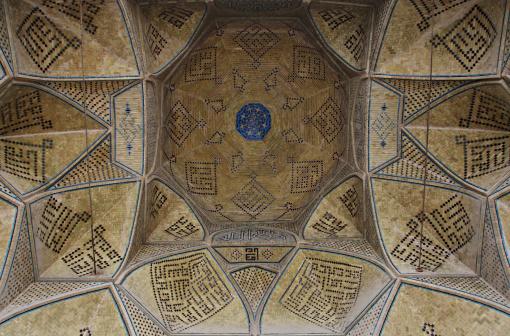 Iranian Culture「Ceiling of Jameh Mosque」:スマホ壁紙(12)