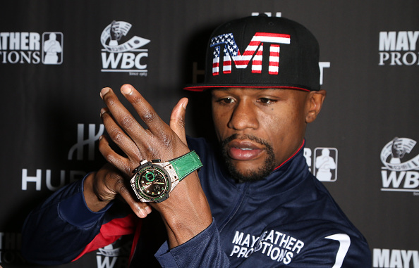 WBC「HUBLOT And Floyd Mayweather Jr.: The Perfect Combination For The Fight Of The Century」:写真・画像(19)[壁紙.com]