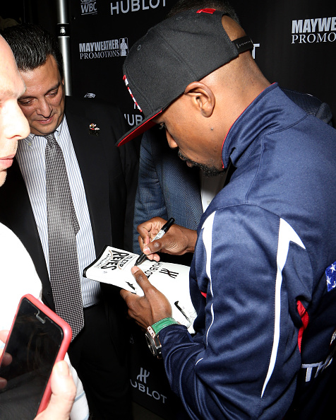 WBC「HUBLOT And Floyd Mayweather Jr.: The Perfect Combination For The Fight Of The Century」:写真・画像(2)[壁紙.com]