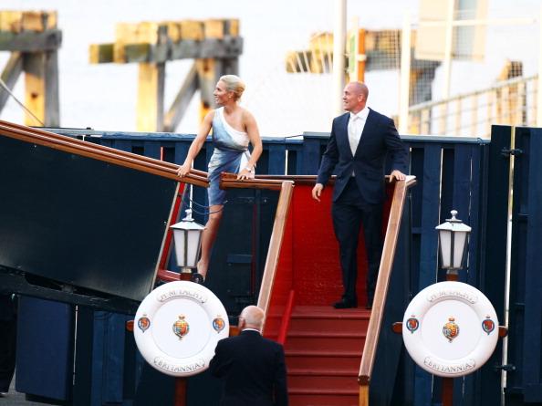 Passenger Craft「Zara Phillips And Mike Tindall Host Pre Wedding Party On Britannia」:写真・画像(5)[壁紙.com]