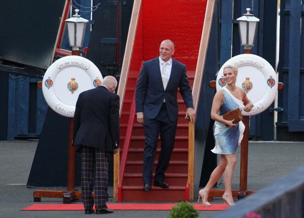 Passenger Craft「Zara Phillips And Mike Tindall Host Pre Wedding Party On Britannia」:写真・画像(10)[壁紙.com]